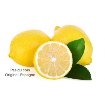 Citrons bio (Lot de 2) -...
